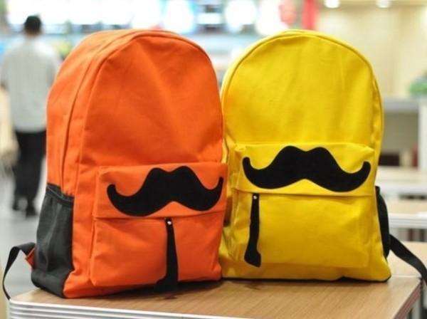 красивый рюкзак с усами