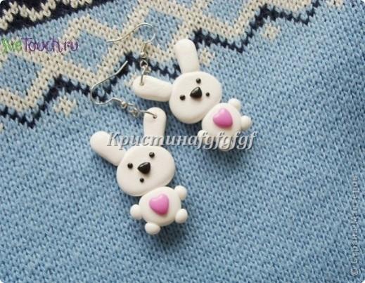 сережки для девочки
