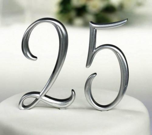 Серебряная годовщина – долгожданный день. Чем будем удивлять?