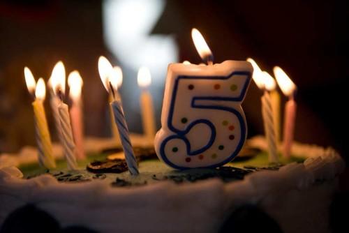 Первый юбилей – пять лет. Что подарить мальчугану?