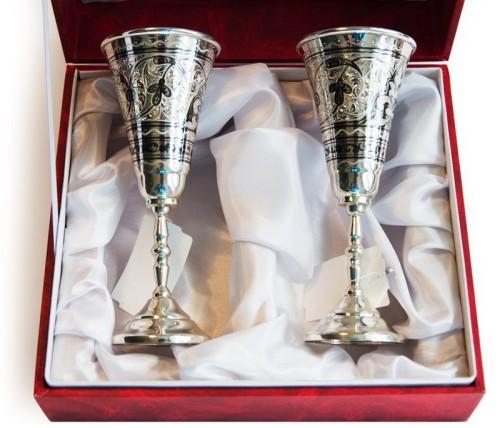 бокалы на юбилей серебряной свадьбы