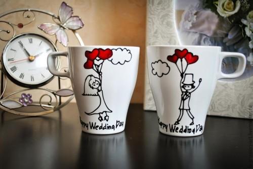 парные чашечки