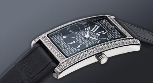 Стильные наручные часы из серебра