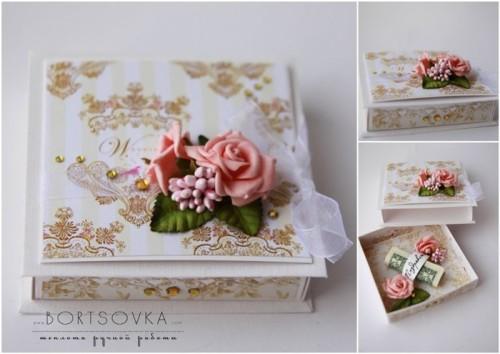 Красивая коробочка для денег