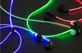 светящиеся наушники