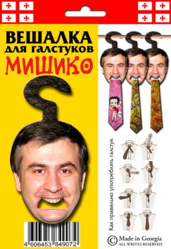 Прикольная вешалка для галстука