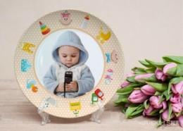 Фототарелка - Малышок