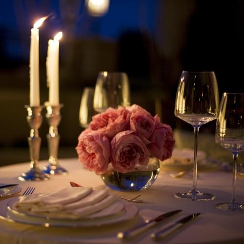 Романтический ужин в подарок мужчине