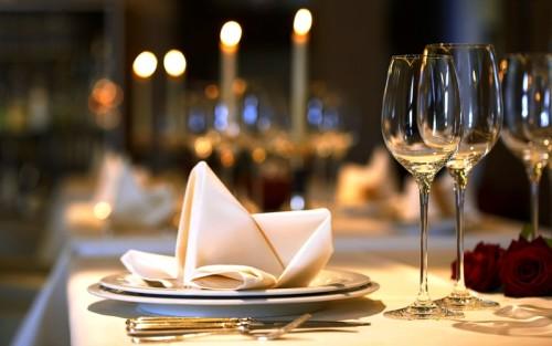 Романтический ужин в годовщину