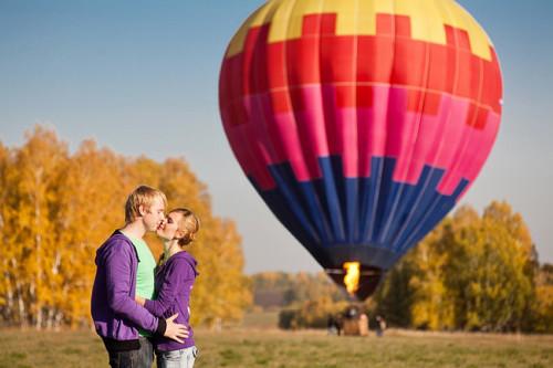 Полёт на воздушном шаре в подарок