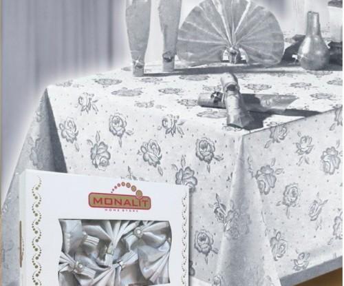 скатерть к серебряной свадьбе