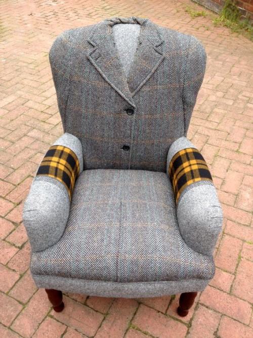 Оригинальное кресло в подарок мужу
