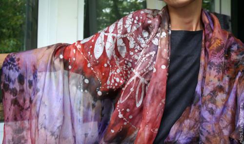 рубиновый палантин