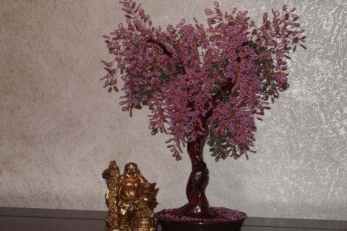 бисерное деревце