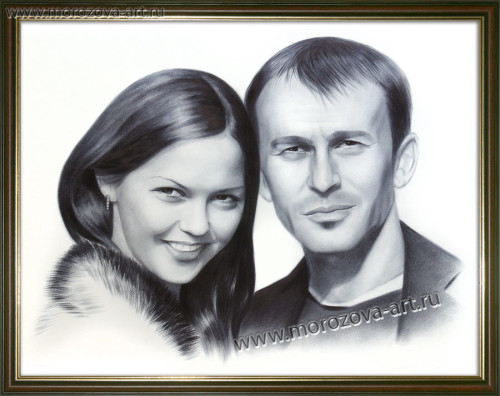 Портрет для мужа на годовщину