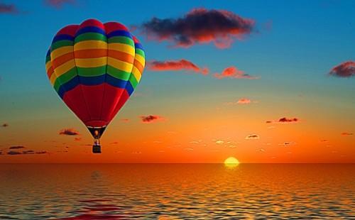полёт на воздушном шаре на серебряную свадьбу полёт на воздушном шаре на серебряную свадьбу
