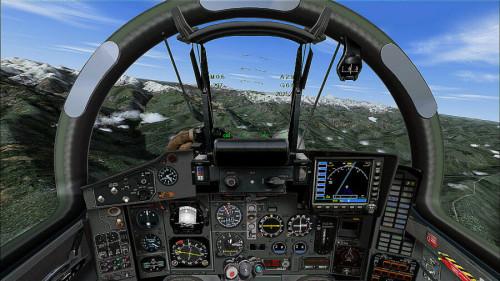 Полёт в авиасимуляторе