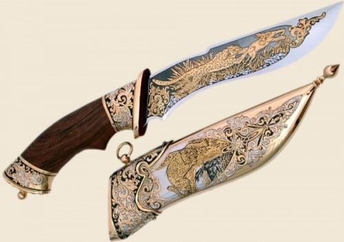 Сувенирный нож в подарок для мужчины