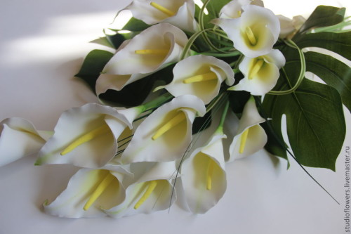 Цветы мужчине на юбилей