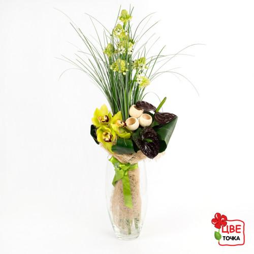 Мужские цветы на юбилей
