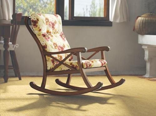 Кресло качалка в подарок мужчине