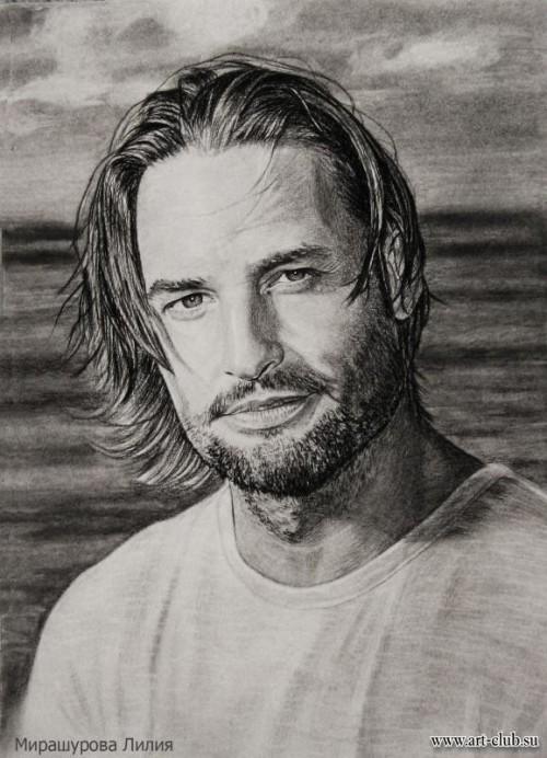 Портрет в подарок мужчине