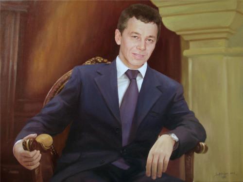 Портрет мужчине на юбилей