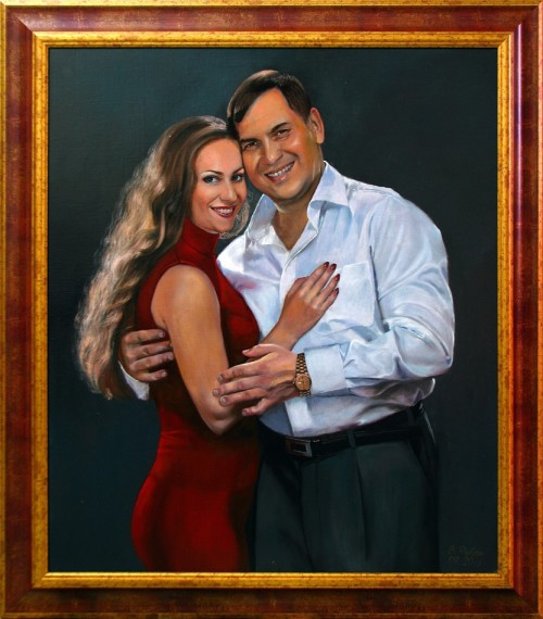 Общий портрет для любимого мужчины