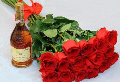 Цветы в подарок для мужчины