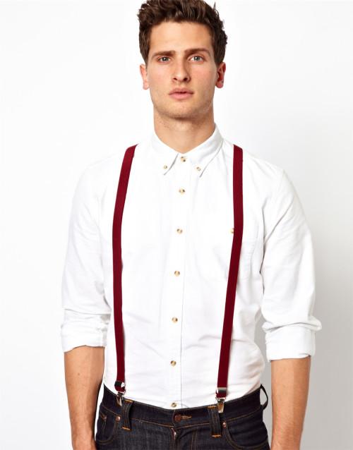 Модные подтяжки для мужчины