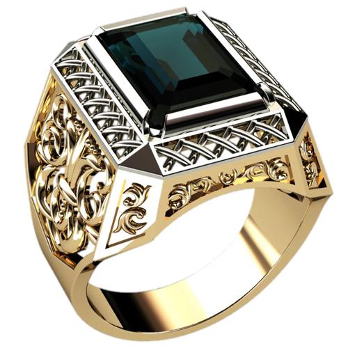 Золотой перстень в подарок мужчине