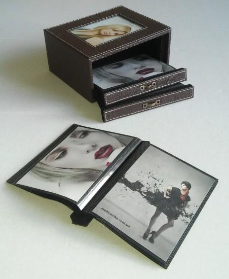 Альбом для фото в коробочке