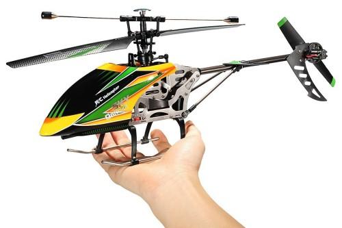 радиоуправляемом вертолете