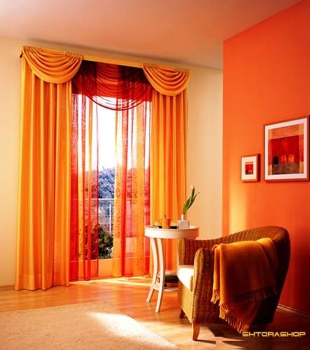 Шикарные шторы для зала или спальни