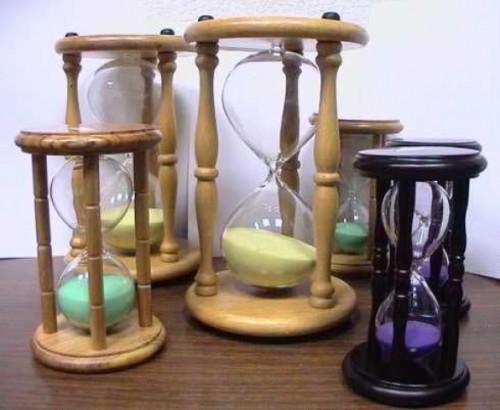 песочные декоративные часы