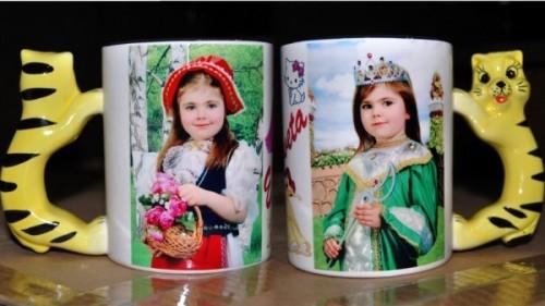чашки с фотографиями