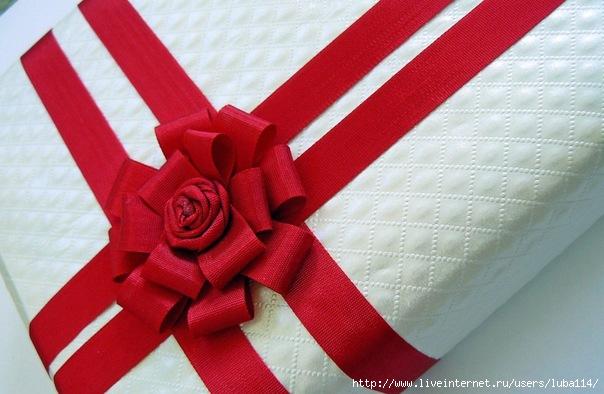 Самые красивые банты для оформления подарков. Своими руками!
