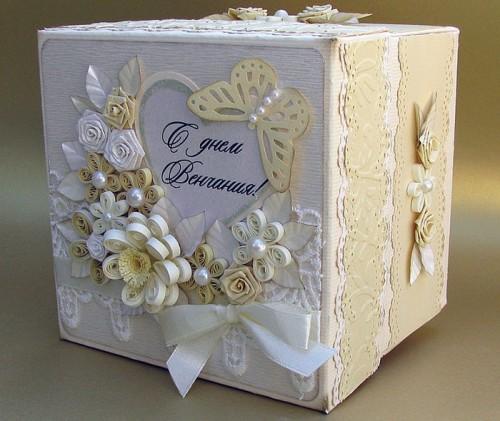 коробка кубической формы
