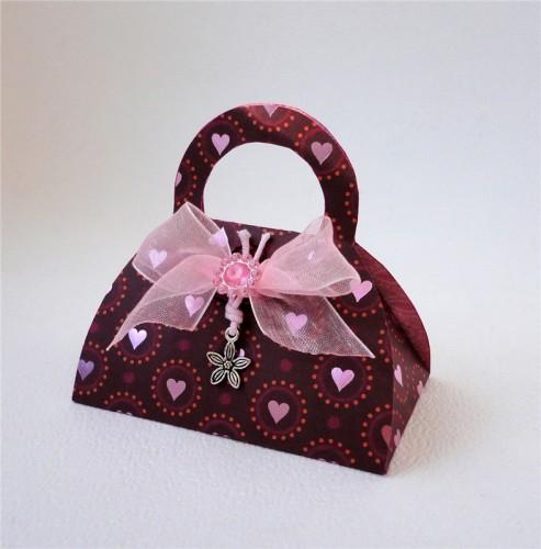 пакета в виде сумочки