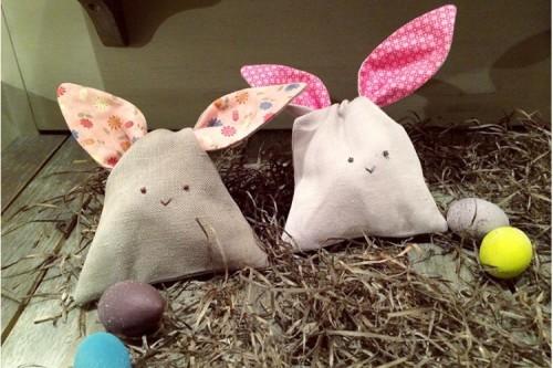сувенир – это мешочек в виде кролик