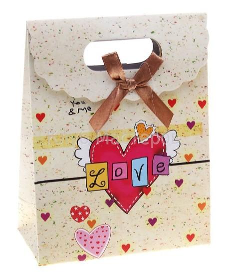 пакет из картона